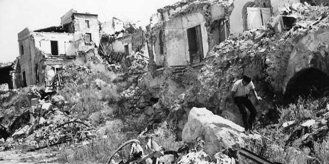 Terremoto del Belice: 50 anni dopo il racconto di un volontario