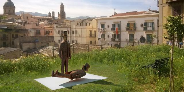 Crowfunding per un monumento a Franco e Ciccio al Capo