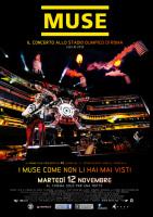 Il concerto dei Muse di Roma al cinema anche a Palermo
