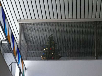 Natale alle Poste di via De Gasperi...a marzo