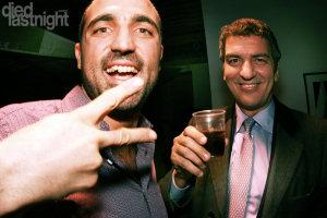 Cris Nulli e Giorgio Ferrari