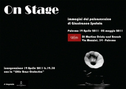 "Gianfranco Spatola - ""On stage"""