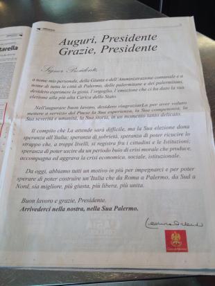 Orlando a Mattarella, la lettera ci costa x mila euro