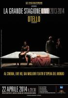 """""""Otello"""" al cinema oggi anche a Palermo"""