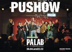 """""""Push.ow"""" al PaLab con Le Malerbe, comici e Maria Bertini"""
