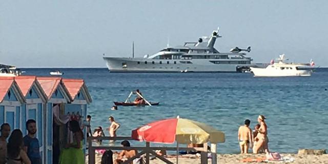 A Mondello lo yacht da 150 milioni di Leonid Mikhelson