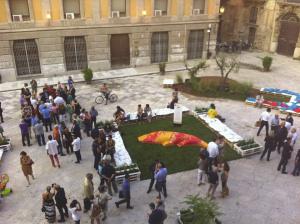 """Inaugurato a piazza Bologni il secondo salotto metropolitano del """"Festino"""""""