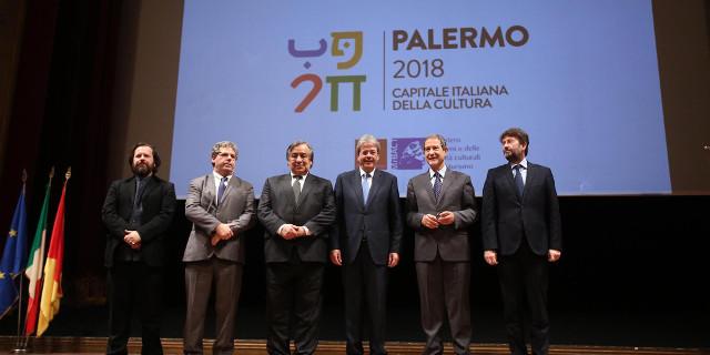 Palermo Capitale italiana della Cultura, l'inagurazione al Teatro Massimo con Gentiloni