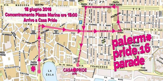 """Oggi la parata per il """"Palermo Pride"""" 2016"""