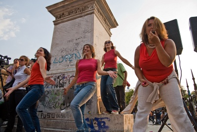 "Flash mob ""Palermo Vola"""