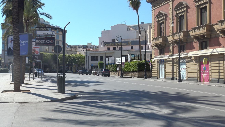 """Coronavirus: Palermo """"lockdown"""", la situazione e le foto delle vie deserte « Palermo blog – Rosalio"""