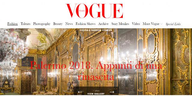 Palermo su Vogue Italia