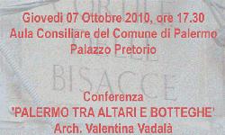 """""""Palermo tra altari e botteghe"""""""