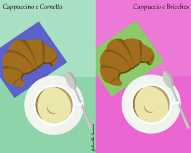 Palermo vs. Milano: colazione