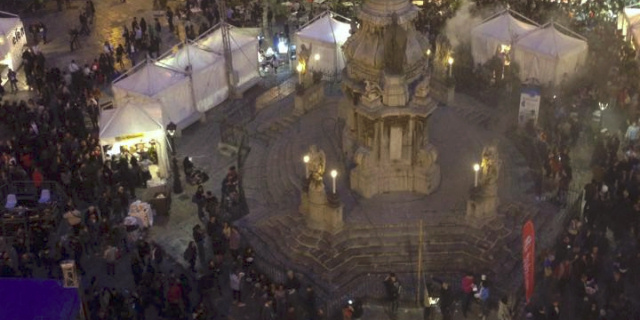 """""""Panormvs Street Food Festival"""", pubblico e polemiche a piazza San Domenico"""