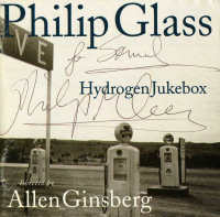 """HydrogenJukebox"" autografato da Philip Glass"