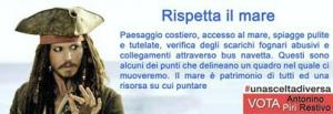 Primarie per Bagheria, Piri Restivo gioca sulla somiglianza con Depp