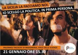 Domani nasce Prima persona in Sicilia