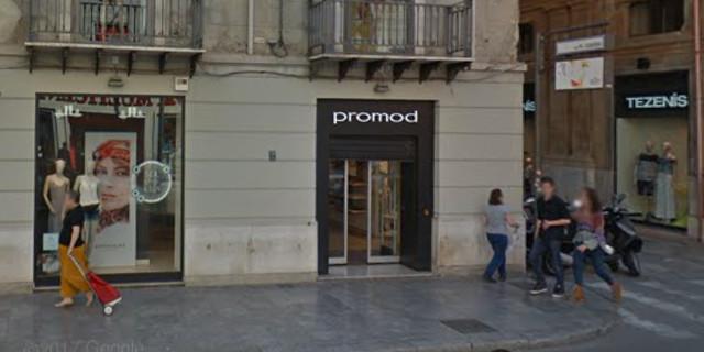 Chiude Promod in via Ruggero Settimo