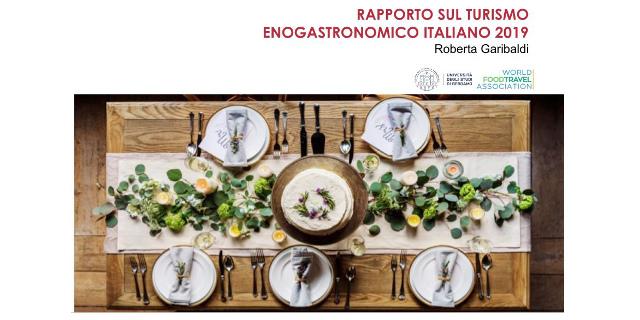 Rapporto sul turismo enogastronomico italiano 2019