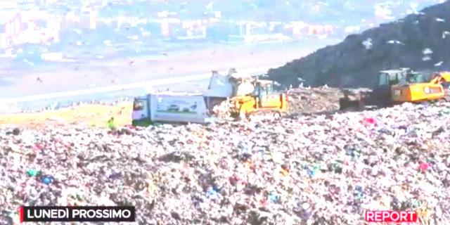 Report mostra rifiuti scaricati a Bellolampo senza trattamento