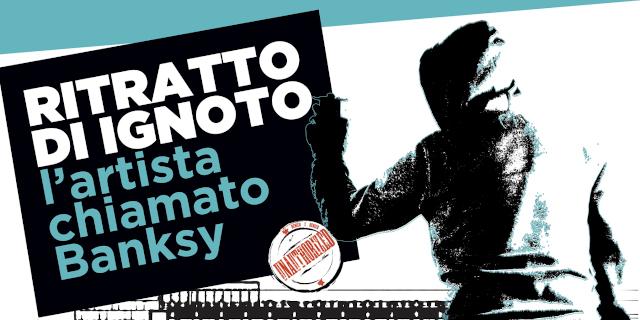 """A ottobre una mostra di Banksy a Palermo: """"Ritratto di ignoto"""""""