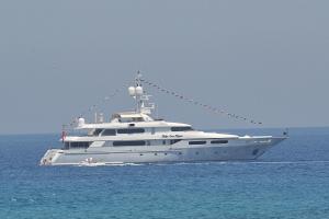 Lo yacht di Rod Stewart