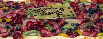 Torta del quinto compleanno di Rosalio