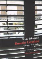 """Gilda Sciortino - """"Rosario Livatino - La coscienza di un giudice"""""""