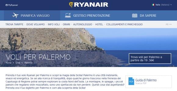 Su Ryanair: Palermo è tesoro dimenticato di mafia e povertà