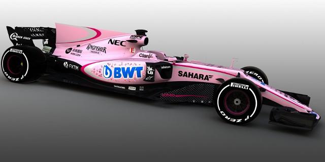 Formula 1, l'auto indiana è rosanero