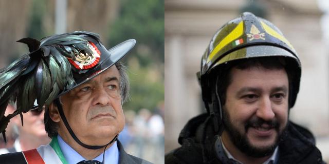 Orlando e Salvini, simili e due facce della stessa medaglia comunicativa