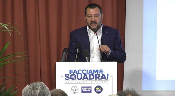 Salvini: «Facciamo squadra»
