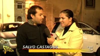 Salvo Castagna e Italiacom a Striscia la notizia