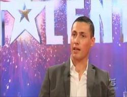Il palermitano Salvo Randazzo in semifinale a Italia's got talent
