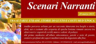 """""""Scenari narranti"""", itinerario nel Centro storico"""""""