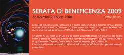 """""""Serata di beneficenza 2009"""" al Teatro Bellini"""