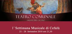 """""""Settimana Musicale di Cefalù"""""""