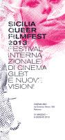 """""""Sicilia Queer filmfest"""" 2013"""