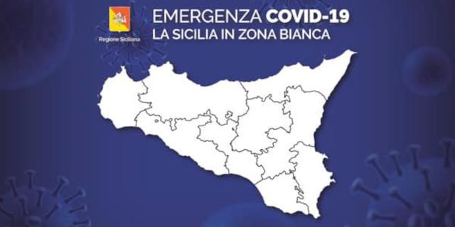 La Sicilia in zona bianca