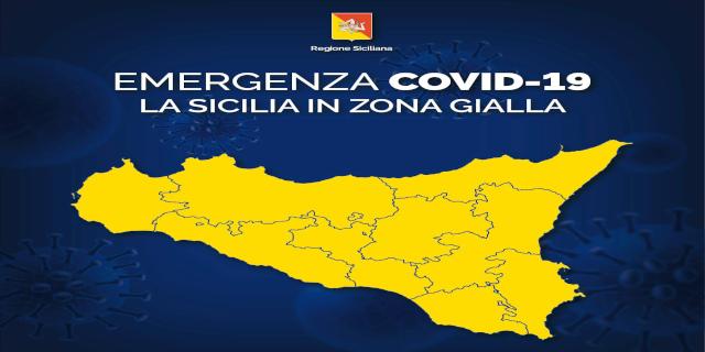 Coronavirus, la Sicilia torna in zona gialla e rischia la zona arancione