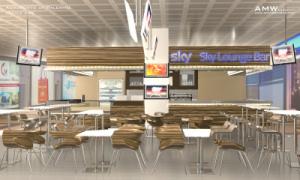 Sky Lounge Bar (rendering)