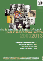 """Studi culturali in Italia. Reloaded"""