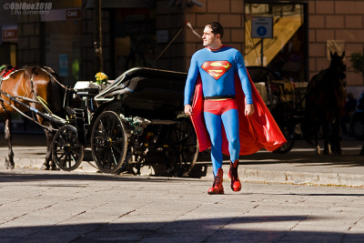 Superman a Palermo!