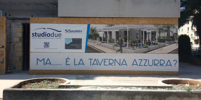 Apre la Taverna Azzurra in via Restivo/viale Lazio?
