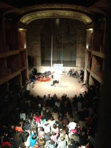 Teatro Garibaldi aperto