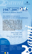 """""""1987-2007 – 20 anni di Telefono Azzurro tra impegno locale e progettualità internazionale"""""""