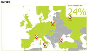 Palermo prima in Italia, quarta in Europa e quinta al mondo per il traffico