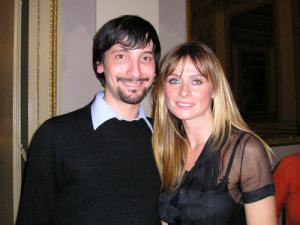 Tony Siino e Serena Autieri