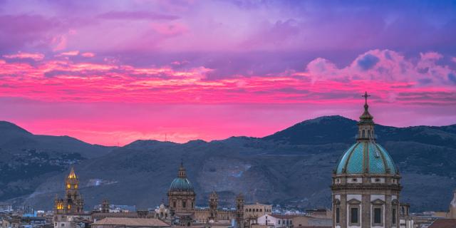 Tramonto a Palermo